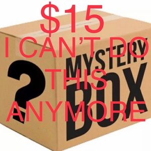 Mystery box $15 I seriously can't even sale